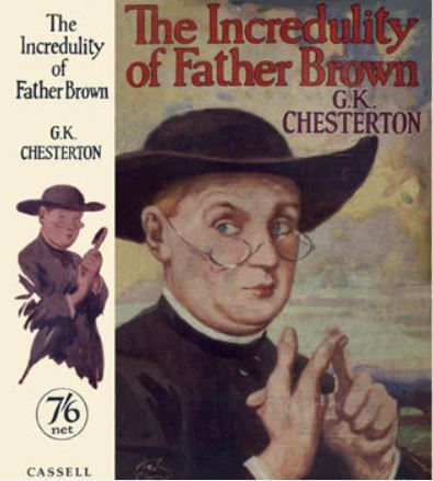 Chesterton - Incredulity of Father Brown.JPG