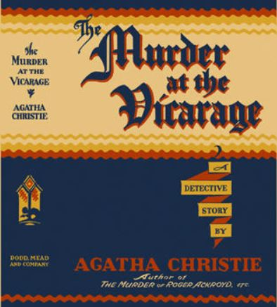 Christie - The Murder at the Vicarage US.JPG