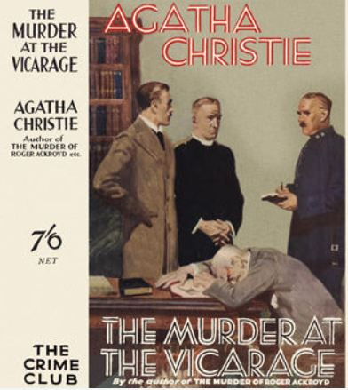 Christie - The Murder at the Vicarage.JPG