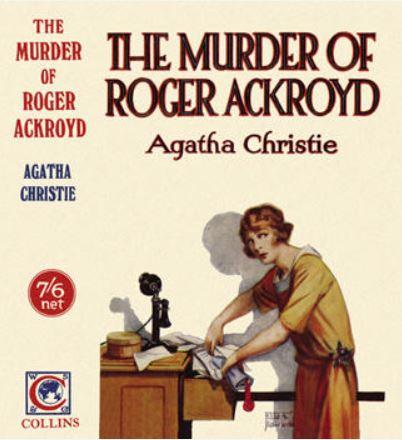 Christie - The Murder of Roger Ackroyd.JPG