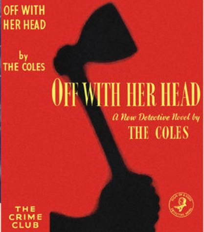 Coles - Off With Her Head.JPG