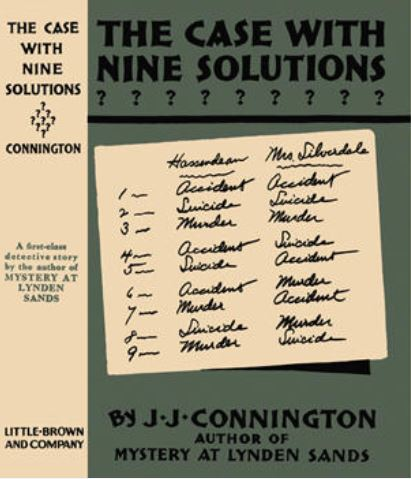 Connington - The Case with 9 Solutions US