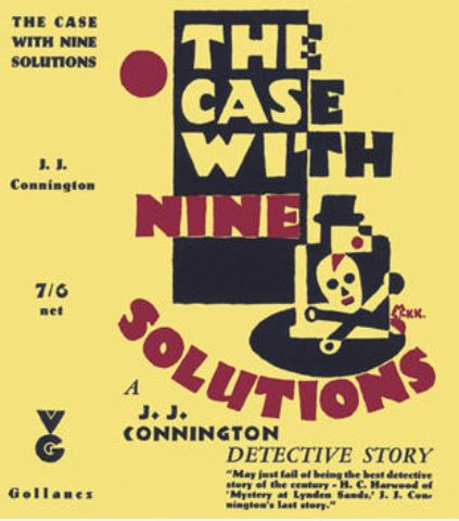 Connington - The Case with 9 Solutions.JPG