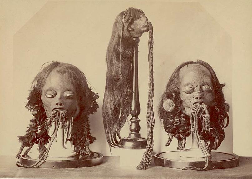 Mundurucu heads