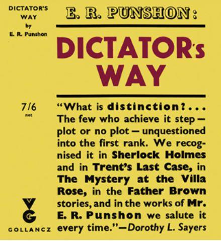 Punshon - Dictator's Way.JPG