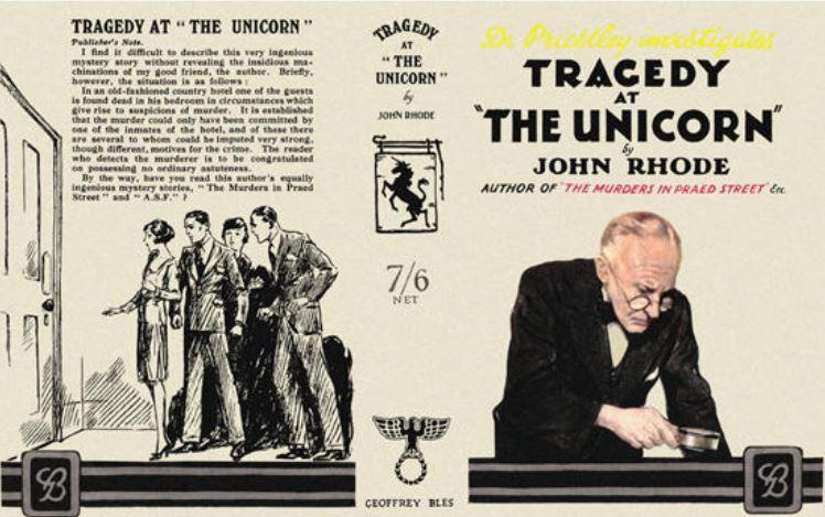 Rhode - Tragedy at the Unicorn.JPG