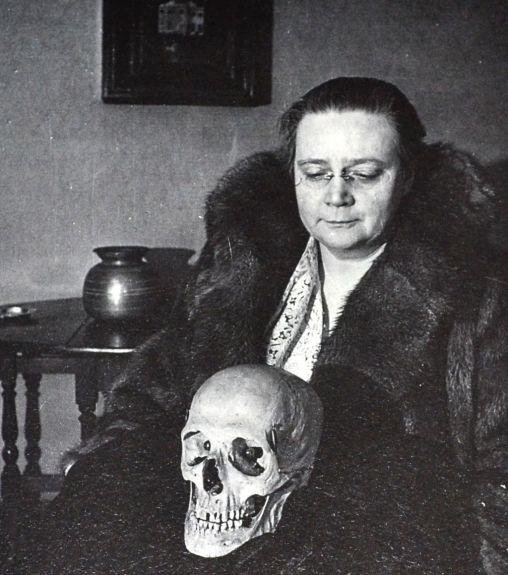 Sayers - & Eric the skull.jpg