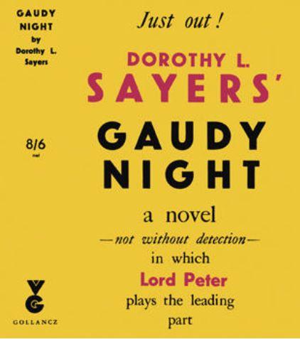 Sayers - Gaudy Night.JPG
