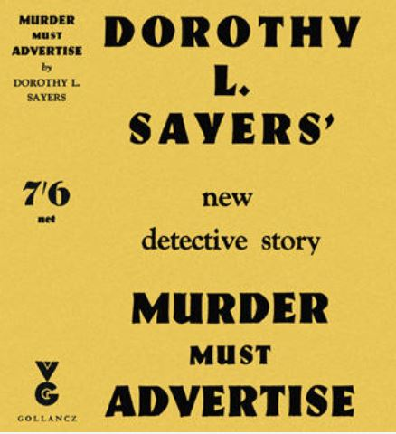 Sayers - Murder Must Advertise