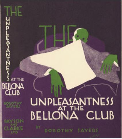 Sayers - The Unpleasantness at the Bellona Club US