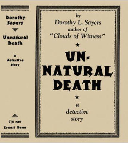 Sayers - Unnatural Death