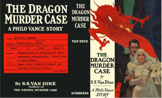 Van Dine - The Dragon Murder Case.JPG
